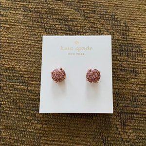 Kate Spade Rose Gold Earrings